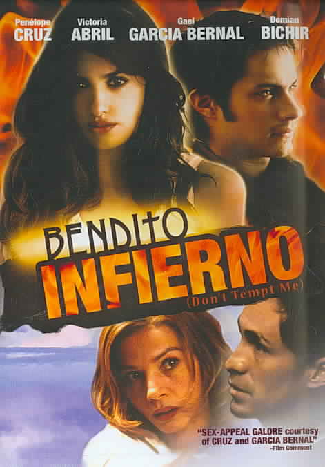 BENDITO INFIERNO (DON'T TEMP ME) BY CRUZ,PENELOPE (DVD)